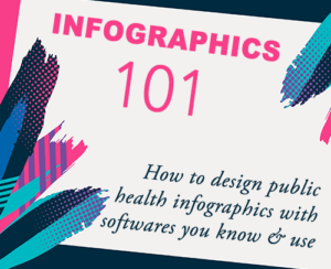 Infographics 101 - how to design public health infographics with software that are free, you know & use
