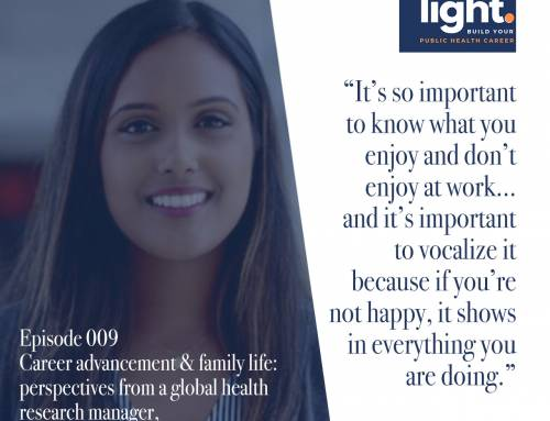 Career advancement & family life: perspectives from a global health research manager, with Lathika Laguwaran