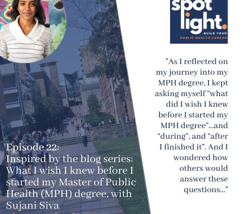 Episode 22_ Inspired by the blog series_ What I wish I knew before I started my Master of Public Health (MPH) degree, with Sujani Siva