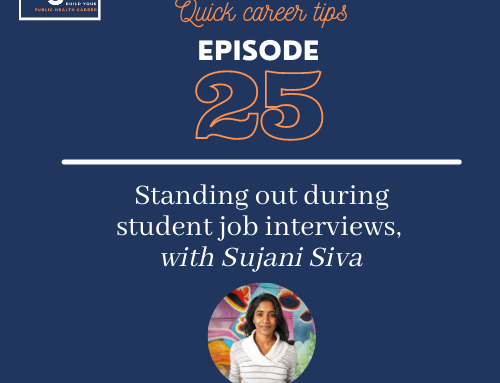 Quick career tips: Standing out during student job interviews