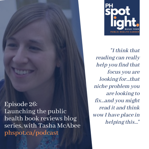 Episode 26_ Launching the public health book reviews blog series, with Tasha McAbee