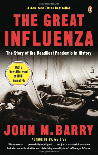 Book cover: The Great Influenza by John Barry
