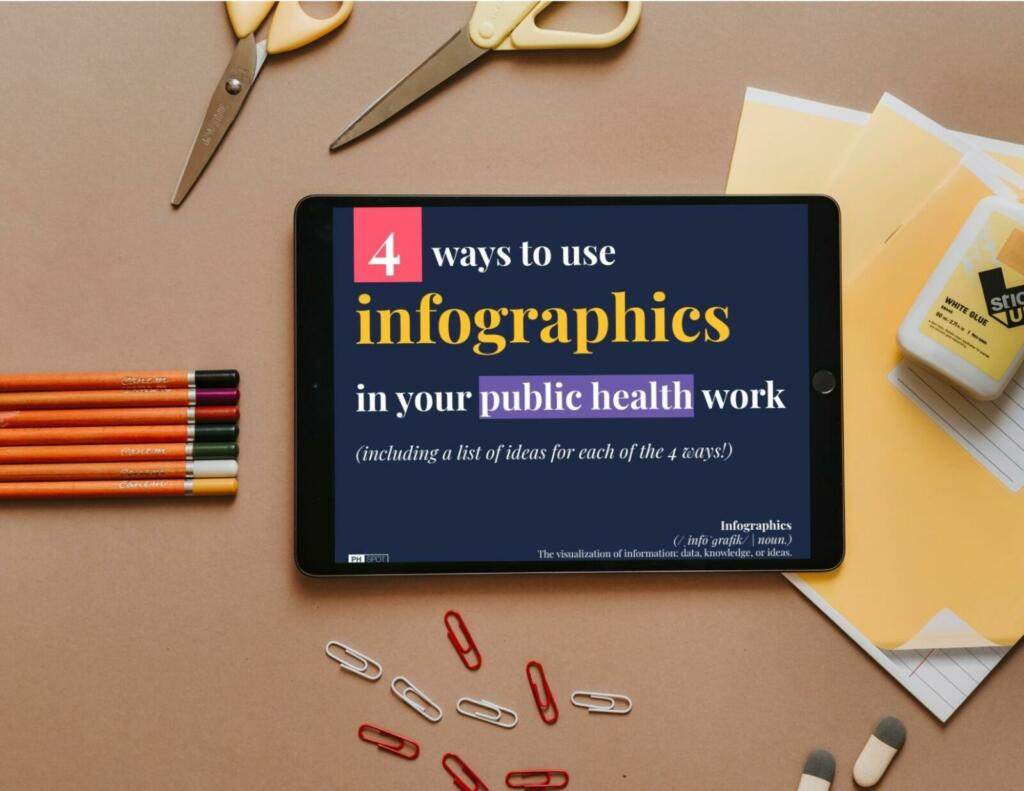 4 ways to use infographics image